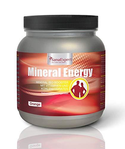 SanaExpert Mineral Energy, Isotonisches Sportgetränk mit Elektrolyten, Vitaminen und...