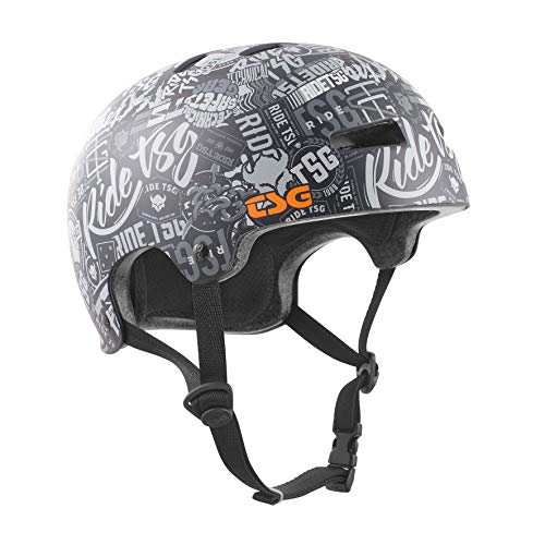 TSG Evolution Graphic Design Helm, stickerbomb, S/M