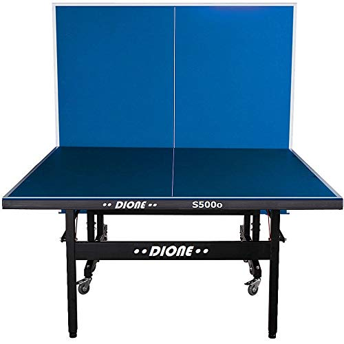Dione Tischtennistisch S500o - 6mm top - Outdoor Klapp - Rollbar Tischtennisplatte...