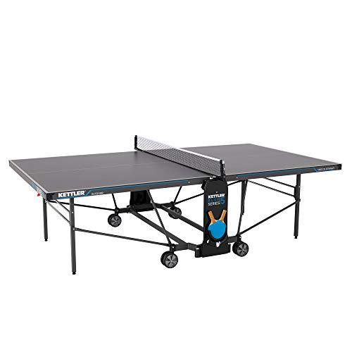 Kettler K5, Outdoor Profi Tischtennisplatte, Turnierqualität, robuste 5mm...