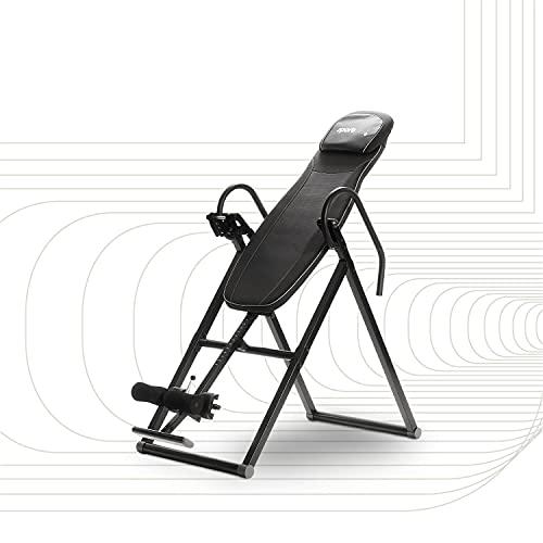 SportPlus Inversionsbank, klappbarer Schwerkrafttrainer, Inversion Table mit 6...