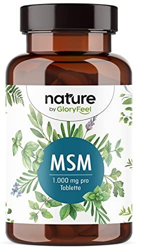 MSM 2000mg mit natürlichem Vitamin C - 365 Tabletten - Laborgeprüft & Vegan -...