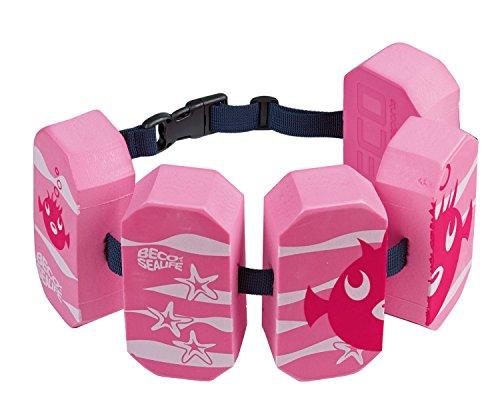 Beco 96071-4_pink 96071 4 - Schwimmgürtel Sealife, für 2 - 6 Jahre, 15 - 30 kg,...