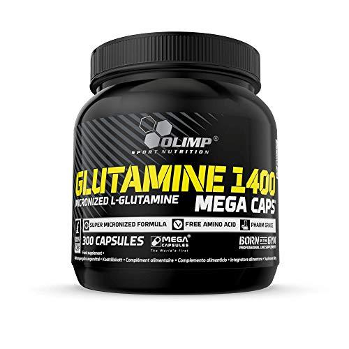Olimp Glutamine 1400 Mega Caps, 300 Kapseln, 23946