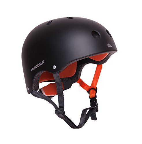 HUDORA 84104 - Skateboard-Helm, Scooter-Helm anthrazit, Gr. 56-60, Skate Helm,...