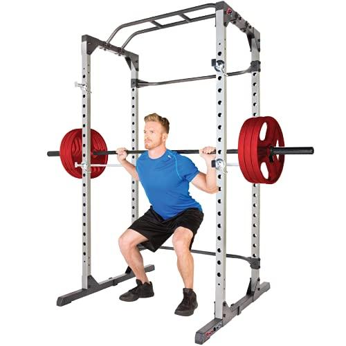 Fitness Reality 810XLT Super Max Power Rack Cage, Sport Kraftstation mit 363 kg...