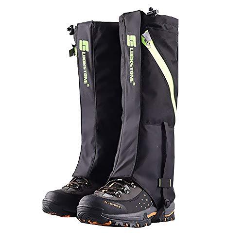 2win2buy Outdoor Wasserdicht Gamaschen, Atmungsaktiv Bein Schutz Legging Gaiter,...
