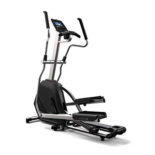 Horizon Fitness Elliptical Ergometer Andes 7i, schwarz, Stellfläche (L x B x H): 173...