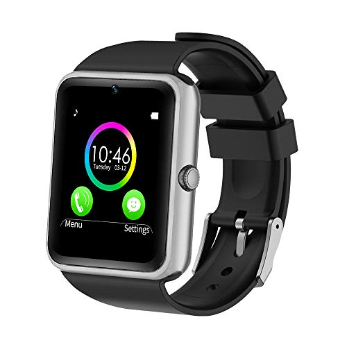 YAMAY Bluetooth Smartwatch Fitness Uhr Intelligente Armbanduhr Fitness Tracker Smart...