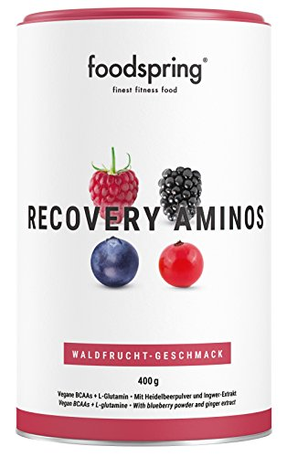foodspring Recovery Aminos, 400g, Waldbeere, Cleane Post-Workout Recovery ohne...