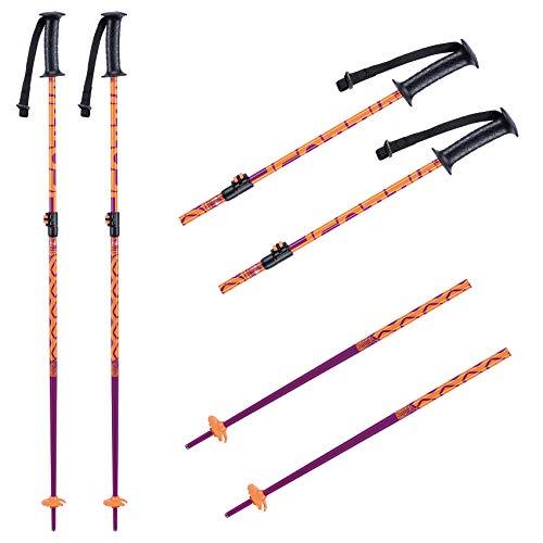 K2 Ski Mädchen Skistöcke Girls Sprout — Purple — Länge: 75-105Cm — 10E3021