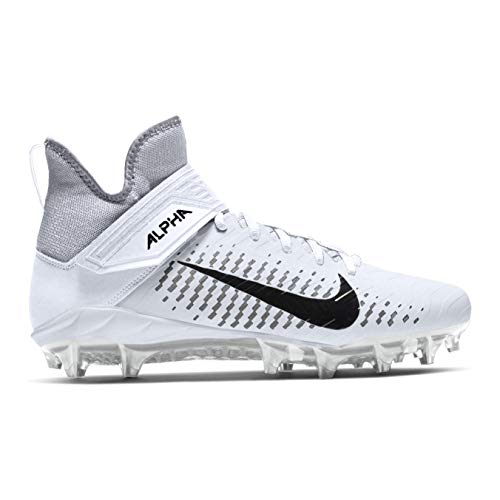 Nike Alpha Menace Pro 2 Mid American Football Rasen Schuhe - weiß Gr. 9.5 US