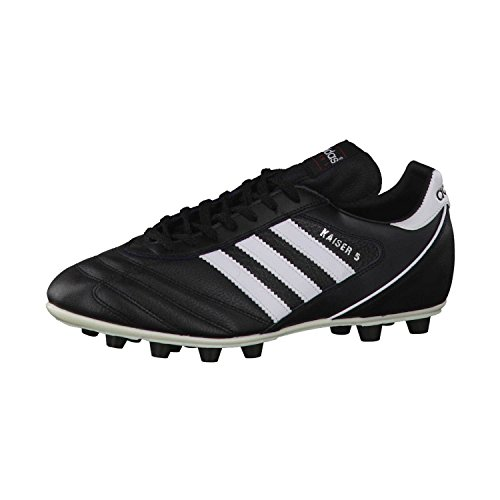 Adidas–Kaiser 5Liga, Herren Fußballschuhe, Schwarz (Black/Running White...