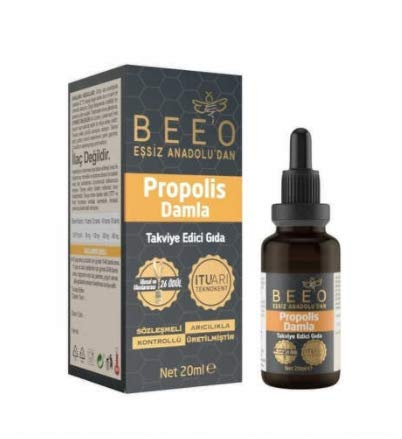 Bee&You Propolis Extrakt Tinktur 20% (Standardisiert auf 20% - Fairer handel - Keine...
