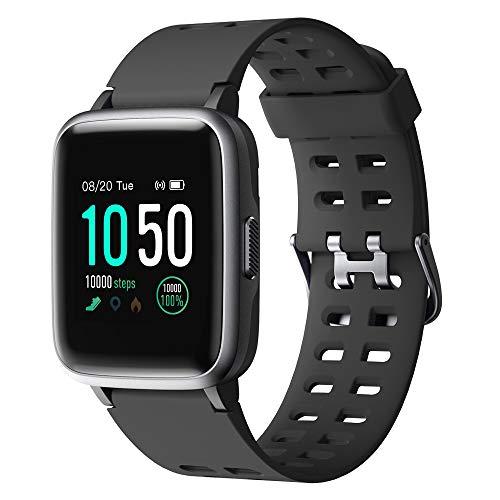 YAMAY Smartwatch,Fitness Armband Uhr Voller Touch Screen Fitness Uhr IP68 Wasserdicht...