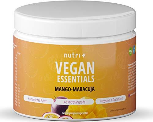 Veganer Multinährstoff Mango-Maracuja - Complete Präparat 300g Pulver - Nutri-Plus...