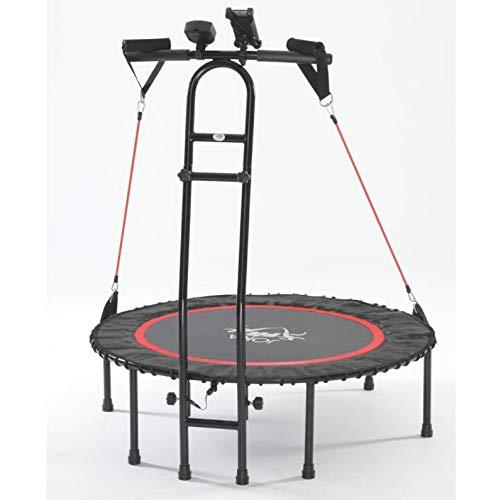 JOKA FIT NEU - die Trampolin-Innovation, Fitnesstrampolin 2.0, mit Sprungzähler,...