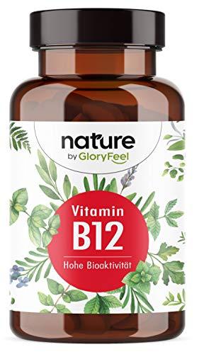 Vitamin B12 200 vegane Tabletten (13 Monate) - Beide Bioaktive B12-Formen + Depotform...