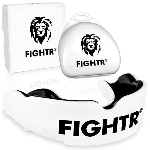 FIGHTR® Premium Mundschutz - ideale Atmung & leicht Anpassbar | Sport Zahnschutz...