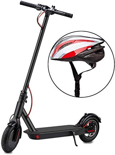 YONOS Elektroroller,350W Motor Erwachsener Elektro Scooter mit 8,5' Vollgummireifen...
