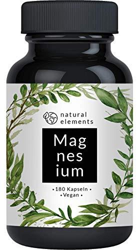 Premium Magnesiumcitrat - Vergleichssieger 2020* - 2250mg davon 360mg elementares...