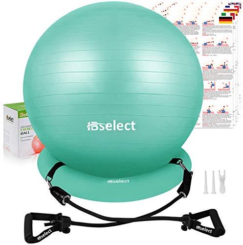 HBselet Gymnastikball Sitzball Gymnastic Ball Medizinball Pezziball mit Wiederstands...