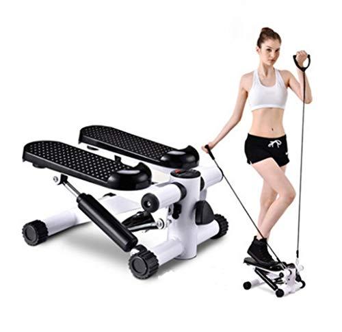 SHR-GCHAO Mini Fitness Hydraulic Stepper, Männer Und Frauen Stepper Cardio-Training...