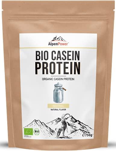 ALPENPOWER BIO MICELLAR CASEIN-PROTEIN mit BCAAs und Aminosäuren I 100% reines...
