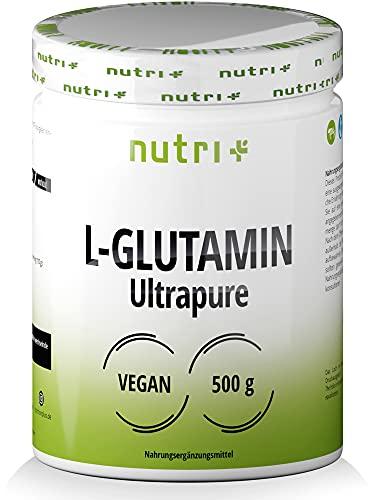 L-GLUTAMIN Pulver 500g Vegan - Neutral & hochdosiert Ultrapure ohne Zusatzstoffe -...