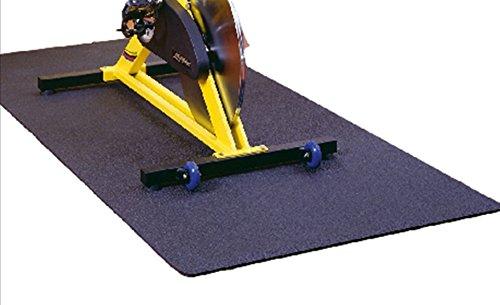 Wehncke Uni Sportmatte Unterlegmatte Floor Protect, anthrazit, 60 x 120 x 0,7 cm, 24923