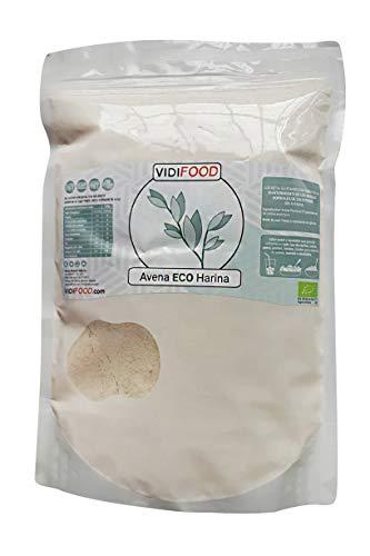Bio-Hafermehl - 1kg - Glutenfreie, aveninfreie und gentechnikfreie Haferflocken -...