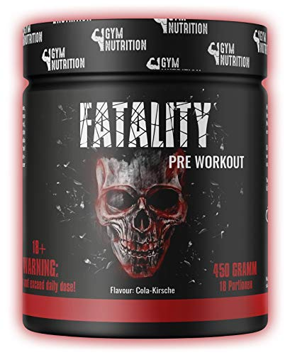FATALITY - Ultra Hardcore Booster Pre workout - Pulver - 2020 USA Matrix - ATP +...