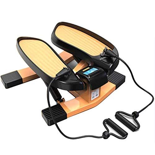 LJYLF Mini-Fitnessgerät Inkl Up-Down-Stepper, Drehstepper & Sidestepper,...