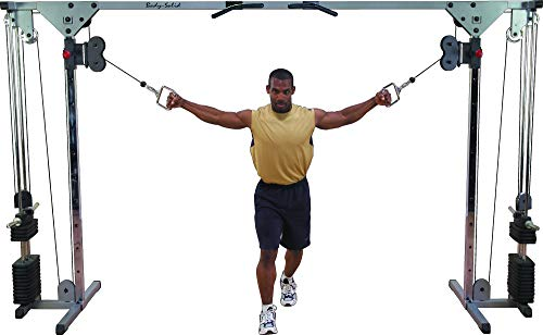 BODY-SOLID CCO-150 Cable Crossover Kraftstation Multi-Kabelzug Functional Training...