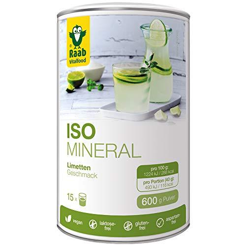 Raab Vitalfood Iso Mineral Limette, isotonisches Getränk, Getränke-Pulver, leicht...