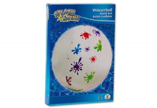Strandball Spielball Splash Fun 50cm