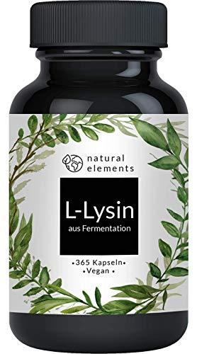 L-Lysin - 365 Kapseln - Einführungspreis - Aus pflanzlicher Fermentation -...