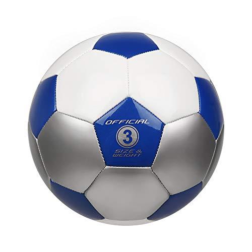 YANYODO Fußball Trainingsfußball Größe 3, 4, 5 für Kind/Jugend/Erwachsener,...