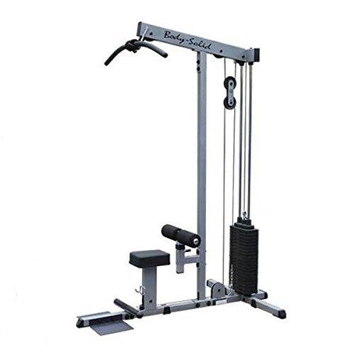 Body-Solid Latzug und Ruderzug mit 95kg oder 130kg Steckgewichten (95kg...
