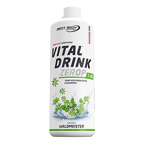 Best Body Nutrition Vital Drink ZEROP® - Waldmeister, Original Getränkekonzentrat...