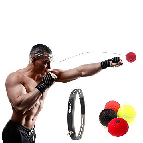 X-LIVE Boxtraining, Boxtraining Ball, 3 Arten Reflex Kampf Ball + Stirnband -...