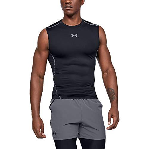 Under Armour UA HeatGear ARMOUR Sleeveless, ärmelloses Funktionsshirt, komfortables...