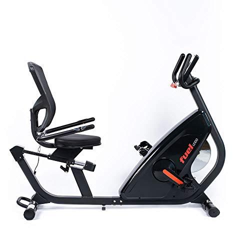 Fuel Fitness LE100 Liegeergometer, Fahrradtrainer mit Rückenlehne für zuhause,...