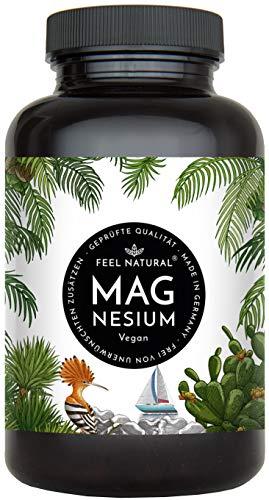Magnesium Kapseln - 365 Stück (1 Jahr). 664mg je Kapsel, davon 400mg ELEMENTARES...