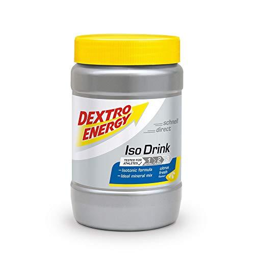 Iso Drink Pulver von Dextro Energy / Citrus Fresh / 440g Isotonisches Getränkepulver...