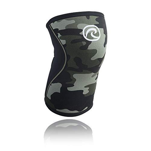 Rehband RX Knee Sleeve 5mm Kniebandage, Camoflage, XS