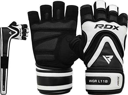 RDX Fitness Handschuhe Trainingshandschuhe Lang Handgelenkstütze Sporthandschuhe...
