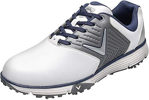 Callaway Herren Chev Mulligan S Waterproof Lightweights Golfschuhe, Weiß (White/Grey...