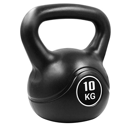 Pure2Improve Kettlebell 10 kg schwarz Cross- & Krafttraining Home Fitness
