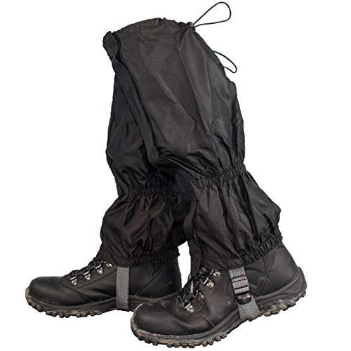 TRIXES 1 Paar wasserdichte Gamaschen für Outdoor-Hosen zum Wandern, Klettern und...